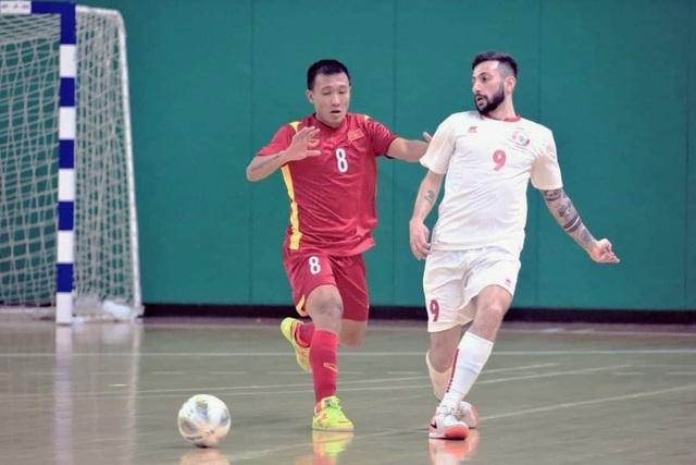 Hòa Lebanon, đội tuyển futsal Việt Nam giành vé dự World Cup - 8