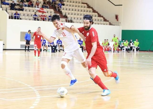 Hòa Lebanon, đội tuyển futsal Việt Nam giành vé dự World Cup - 3