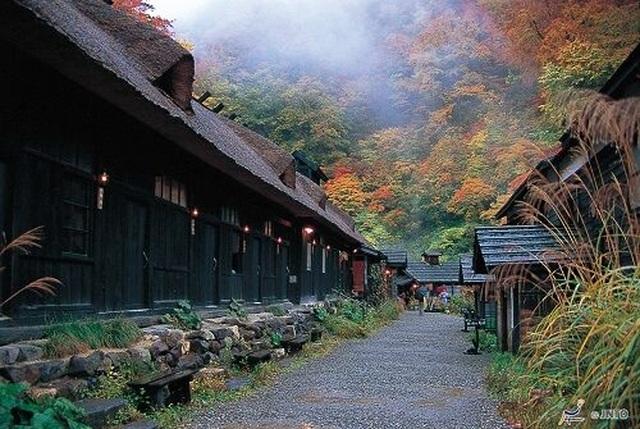 Nyuto Onsen - Suối nước nóng bí mật của người dân phố núi - 2