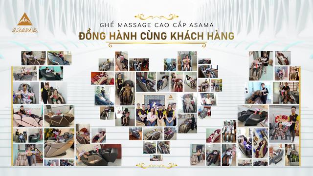 Ghế massage ASAMA: Trao niềm tin - trao hạnh phúc - nâng tầm sức khỏe Việt - 3
