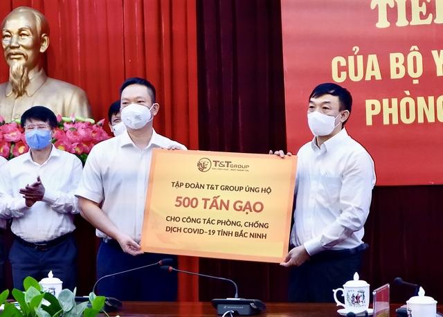 TT Group ủng hộ 1.000 tấn gạo và 5 tỷ đồng tiếp sức cho Bắc Ninh, Bắc Giang chống dịch - 1