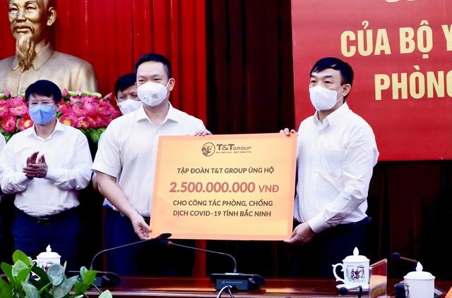 TT Group ủng hộ 1.000 tấn gạo và 5 tỷ đồng tiếp sức cho Bắc Ninh, Bắc Giang chống dịch - 2