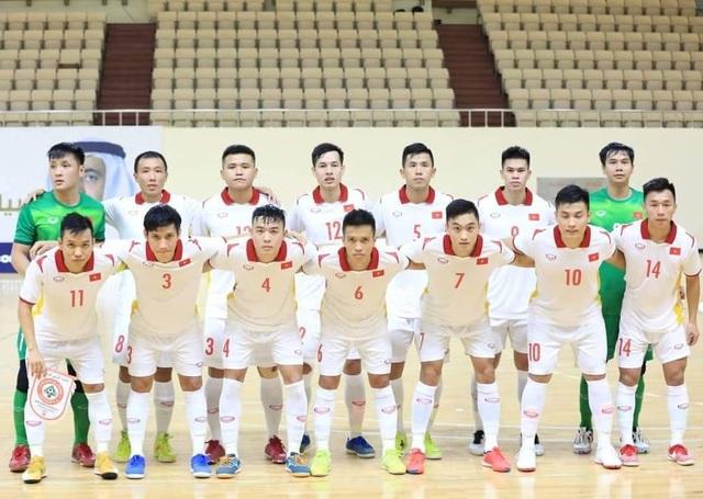 Hòa Lebanon, đội tuyển futsal Việt Nam giành vé dự World Cup - 1