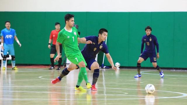 Thắng đậm Iraq, futsal Thái Lan giành vé dự World Cup - 2