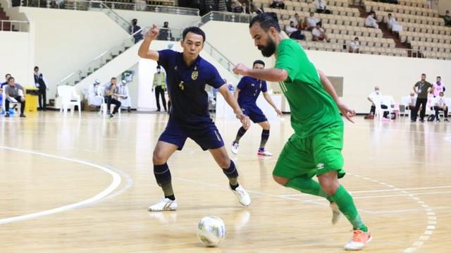 Thắng đậm Iraq, futsal Thái Lan giành vé dự World Cup - 1