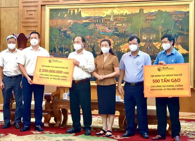 TT Group ủng hộ 1.000 tấn gạo và 5 tỷ đồng tiếp sức cho Bắc Ninh, Bắc Giang chống dịch - 3