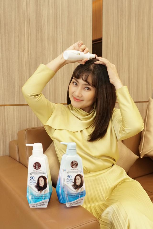 Xa Thi Mạn cùng sao Việt chia sẻ bí quyết cho mái tóc khỏe đẹp - 4