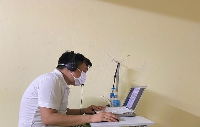 Bắc Giang: Thầy và trò vẫn miệt mài dạy  - học trực tuyến trong khu cách ly - 2