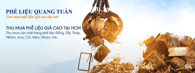 Quang Tuấn - địa chỉ thu mua phế liệu sắt thép giá cao tại TPHCM - 1