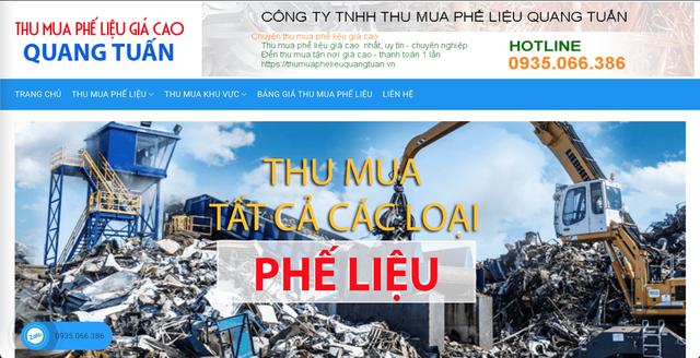 Quang Tuấn - địa chỉ thu mua phế liệu sắt thép giá cao tại TPHCM - 2