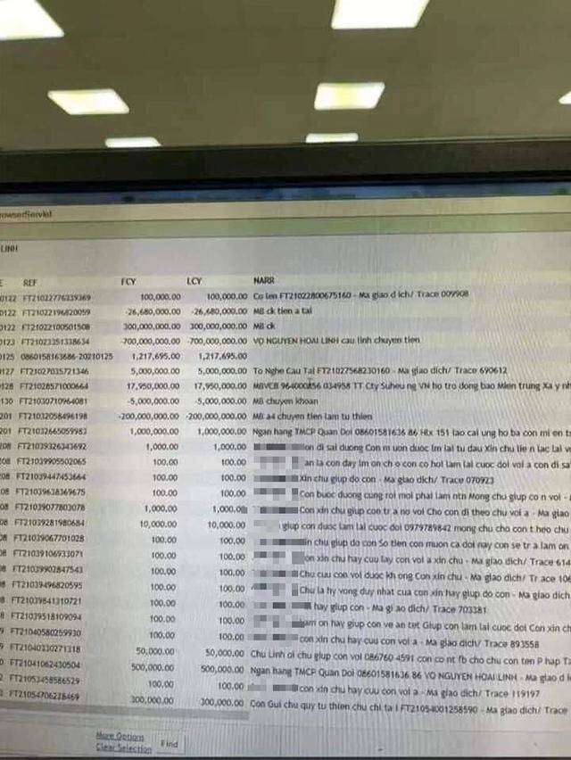 MB vẫn đang thanh tra nội bộ vụ sao kê nghi của Hoài Linh bị phát tán  - 1