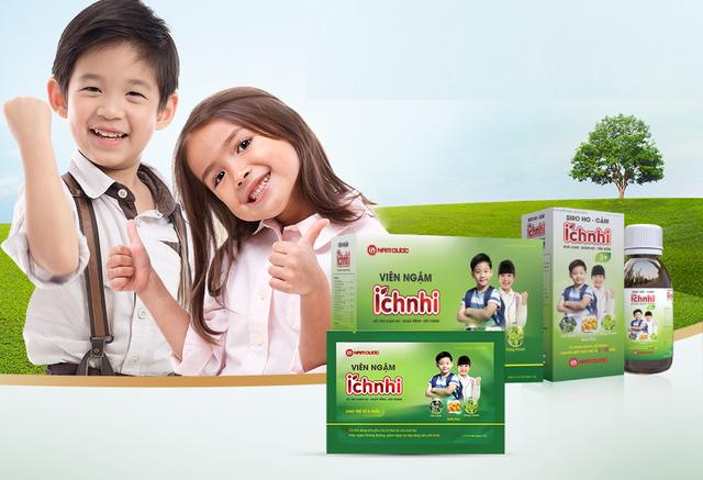 Bộ sản phẩm hỗ trợ trị cảm ho, viêm họng cho trẻ trên 3 tuổi - 2