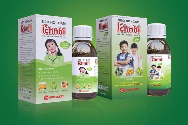 Bộ sản phẩm hỗ trợ trị cảm ho, viêm họng cho trẻ trên 3 tuổi - 3