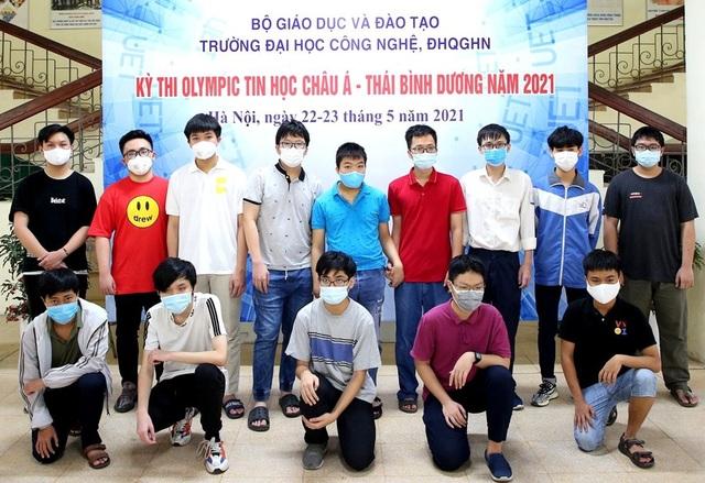 Việt Nam giành 6 huy chương Olympic Tin học Châu Á - Thái Bình Dương - 1