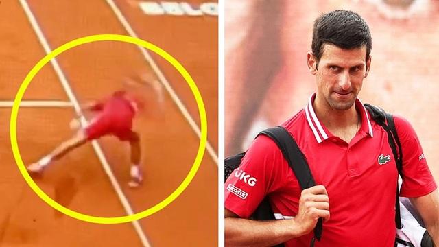 Novak Djokovic nổi điên, đập nát vợt như quân thù - 2