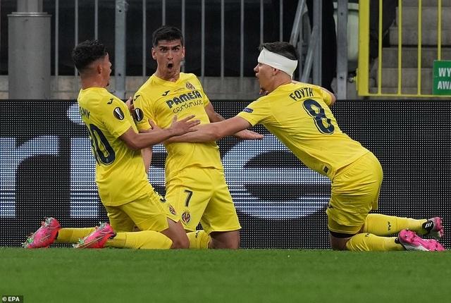 Man Utd thua đau đớn Villarreal ở trận chung kết Europa League - 4