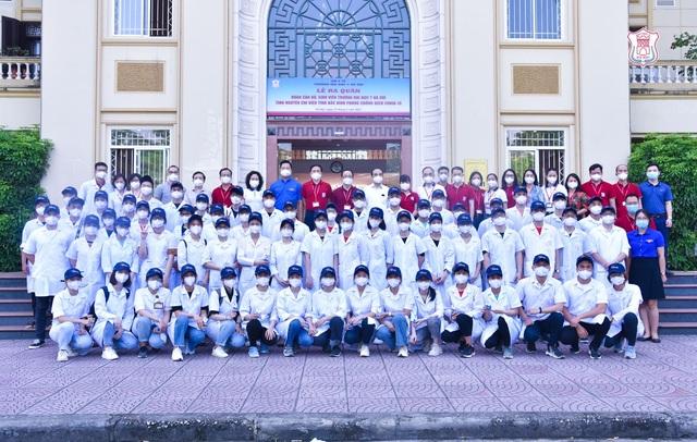Hàng trăm sinh viên trường Y xuất quân chi viện tới Bắc Giang, Bắc Ninh - 2