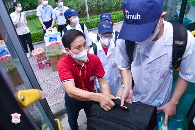 Hàng trăm sinh viên trường Y xuất quân chi viện tới Bắc Giang, Bắc Ninh - 3