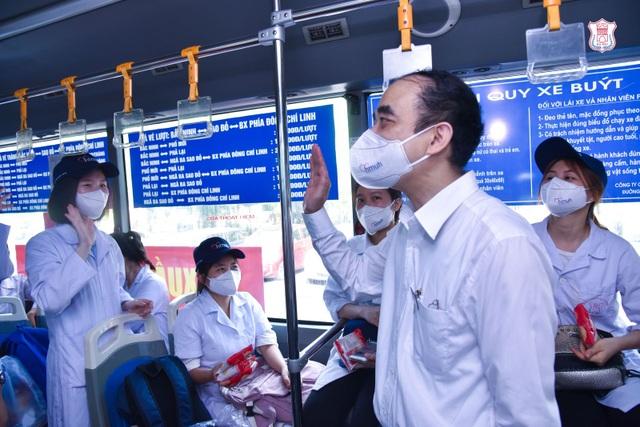 Hàng trăm sinh viên trường Y xuất quân chi viện tới Bắc Giang, Bắc Ninh - 4