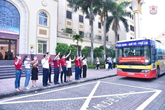 Hàng trăm sinh viên trường Y xuất quân chi viện tới Bắc Giang, Bắc Ninh - 5