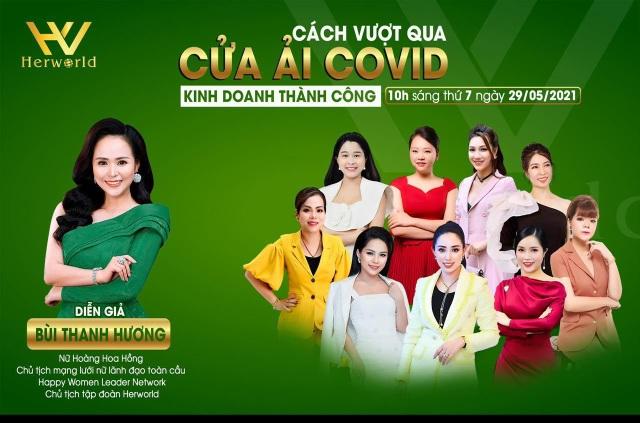 Bùi Thanh Hương mách chị em cách vượt qua cửa ải Covid-19 để kinh doanh thành công - 1