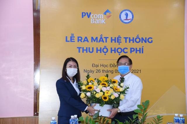 PVcomBank ra mắt hệ thống thu hộ học phí tại Đại học Đồng Tháp - 1
