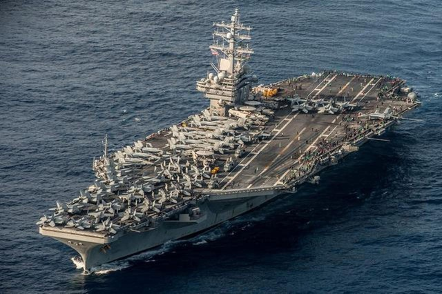 Mỹ rút tàu sân bay duy nhất khỏi châu Á - Thái Bình Dương - 1