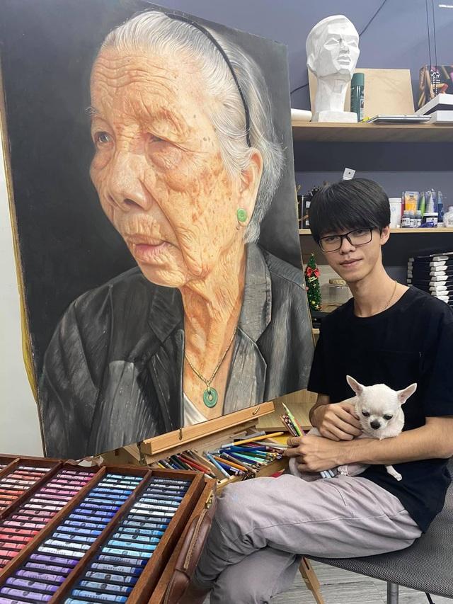 9X Sài Gòn bỗng nổi như cồn nhờ tài vẽ tranh sống động như thật - 6