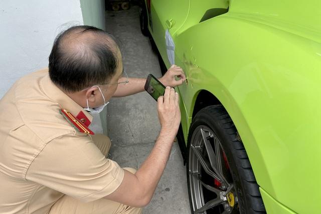 Bắt giam tài xế siêu xe Ferrari chống đối CSGT, khởi tố người bạn gái - 2