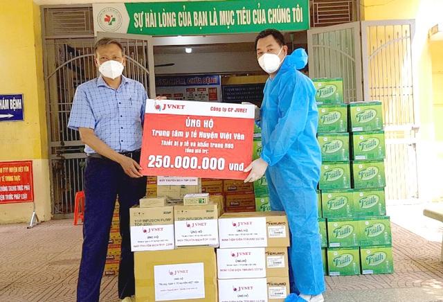 Huyện Việt Yên- Bắc Giang tiếp nhận thiết bị y tế hỗ trợ điều trị Covid-19 - 2