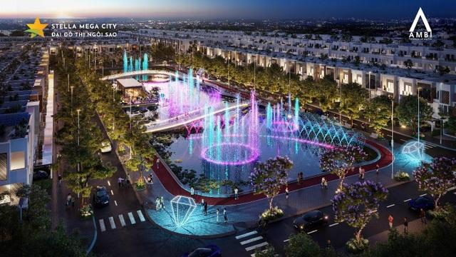 Bốn điểm nhấn làm nên giá trị độc tôn phân khu The Ambi - Stella Mega City - 1