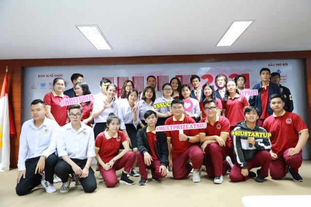 Sinh viên SIU và hành trình lọt vào vòng bán kết Hult Prize Đông Nam Á - 2