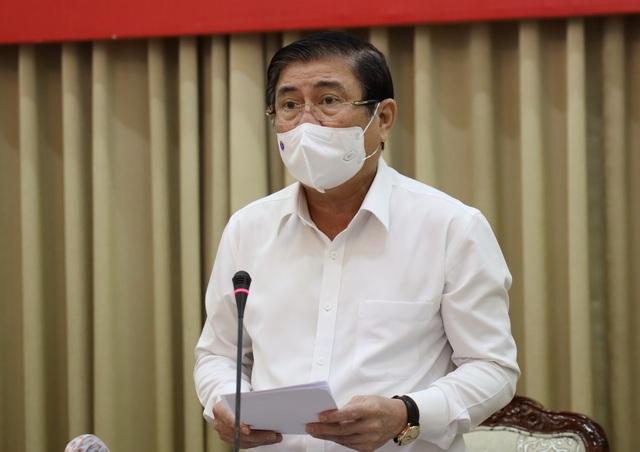Chủ tịch TPHCM điểm danh 4 chuỗi lây nhiễm Covid-19 - 1