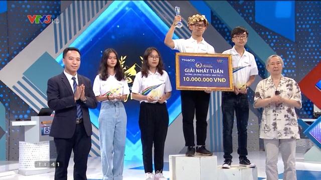 Nhà vô địch cuộc thi tuần Olympia giành số điểm cao thứ 3 mùa giải năm nay - 2
