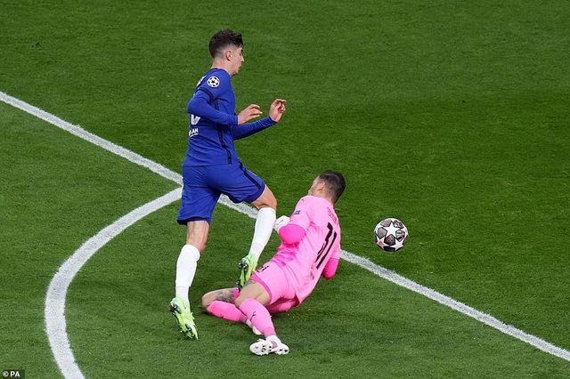 Kai Havertz hạnh phúc với bàn thắng giúp Chelsea vô địch Champions League - 1