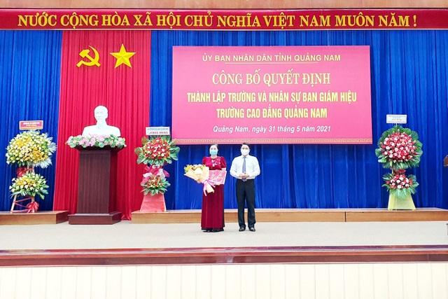 Công bố  thành lập Trường Cao đẳng Quảng Nam từ 6 trường sáp nhập - 1