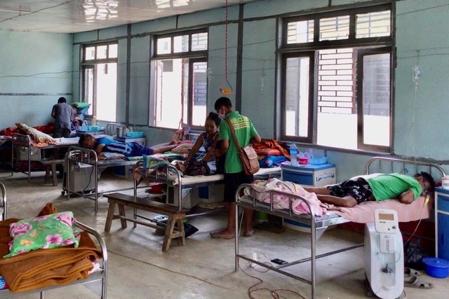 Đảo chính, dịch Covid-19 đẩy hệ thống y tế Myanmar tới bờ vực sụp đổ - 1