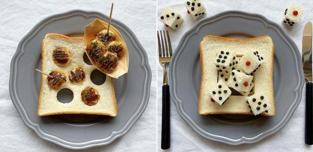 Cô gái Nhật biến lát bánh mì ăn sáng quen thuộc thành tác phẩm nghệ thuật - 3