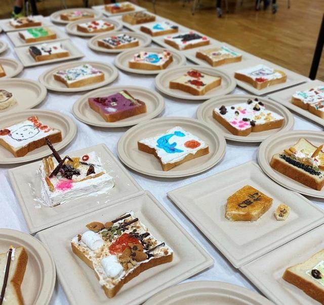 Cô gái Nhật biến lát bánh mì ăn sáng quen thuộc thành tác phẩm nghệ thuật - 4