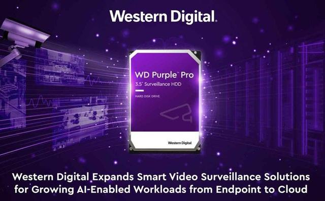 Giới thiệu dòng ổ cứng WD Purple Pro - Hướng đến kỷ nguyên trí tuệ nhân tạo - 1