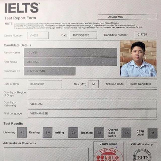 Nam sinh hệ đào tạo 9+ đạt 7.5 IELTS: Mơ ước thành lập trình viên - 1