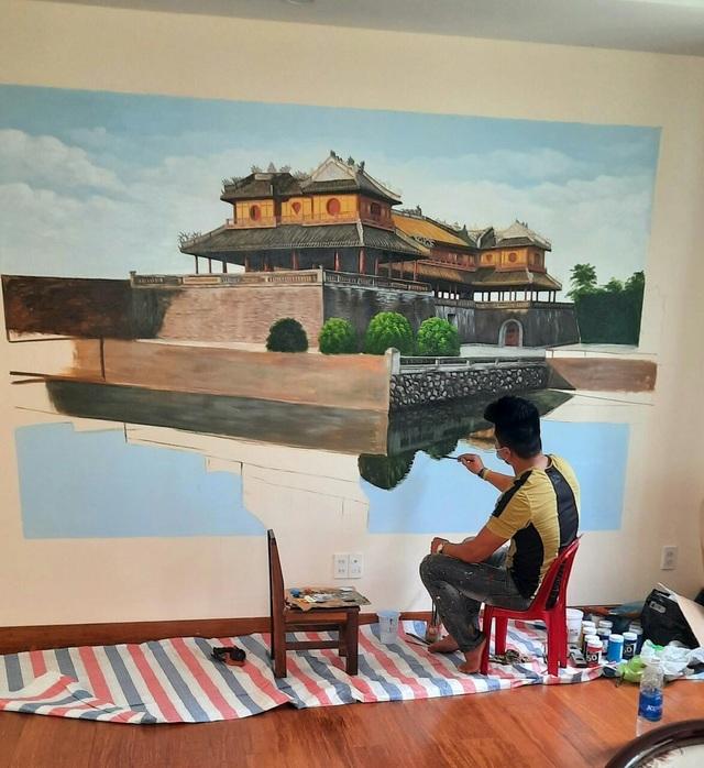 Theo đuổi đam mê vẽ tranh tường - 2