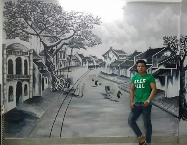 Theo đuổi đam mê vẽ tranh tường - 4