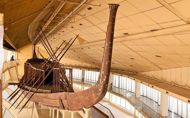 Bí mật về con tàu 4.600 năm tuổi của Pharaoh nổi tiếng Ai Cập - 1