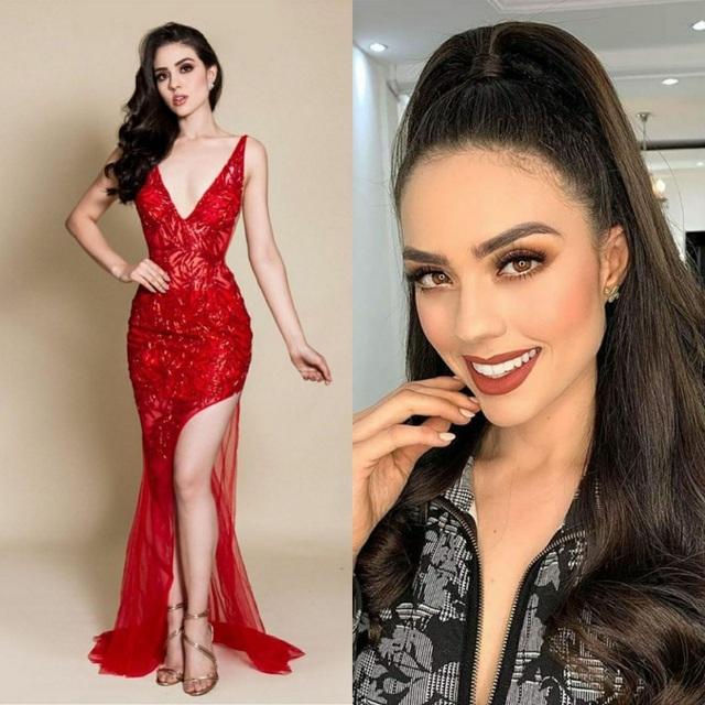 Nhan sắc bốc lửa và kiêu sa của tân Hoa hậu Hoàn vũ Mexico - 3