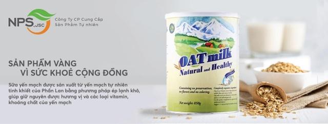 Sữa yến mạch nhập khẩu OAT milk: Món quà an lành từ thiên nhiên - 2