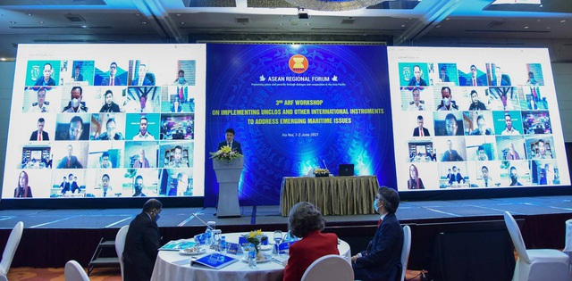 Diễn đàn khu vực ASEAN bàn việc vận dụng luật Biển giải quyết thách thức - 1