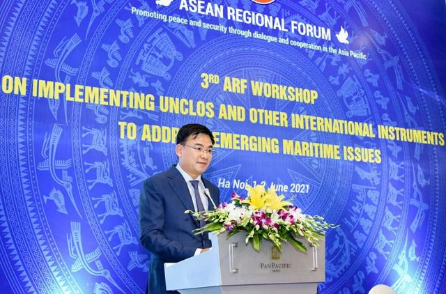 Diễn đàn khu vực ASEAN bàn việc vận dụng luật Biển giải quyết thách thức - 2