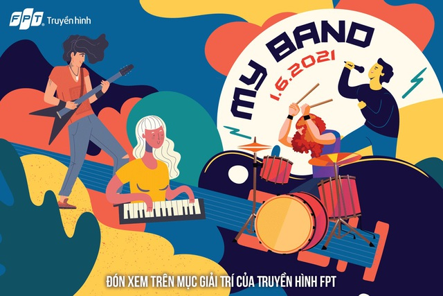 My Band - Nơi các nghệ sĩ nhí có ban nhạc cho riêng mình - 2
