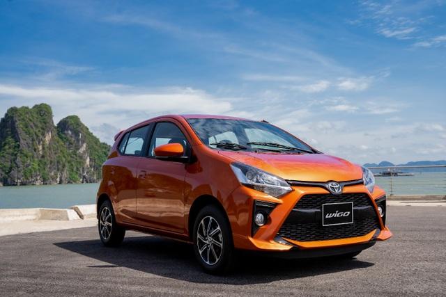 Nhận ưu đãi khủng lên đến 20 triệu đồng, khách mua Toyota Wigo lợi đơn lợi kép - 1